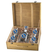 Kansas Jayhawks Capitol Decanter Box Set