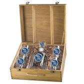Kansas Jayhawks Capitol Decanter Box Set