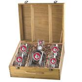 Louisville Cardinals Capitol Decanter Box Set
