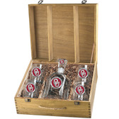 Oklahoma Sooners Capitol Decanter Box Set