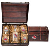 Utah Utes Capitol Decanter Chest Set