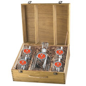 Virginia Cavaliers Capitol Decanter Box Set
