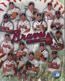Atlanta Braves 2001 Team 8x10 Photo