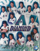 Arizona Diamondbacks 2001 Team 8x10 Photo