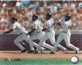 Barry Bonds San Francisco Giants Multi Exposure 8x10 Photo