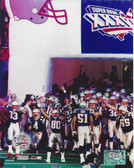 New England Patriots Super Bowl XXXVI 8x10 Photo