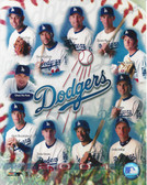 Los Angeles Dodgers 2001 Team 8x10 Photo