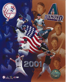 Arizona Diamondbacks New York Yankees 2001 World Series 8x10 Photo
