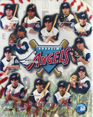 Anaheim Angels 2001 8x10 Team Photo