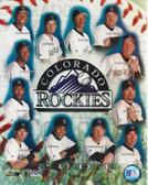 Colorado Rockies 2001 8x10 Team Photo