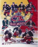 Columbus Blue Jackets 2002 8x10 Team Photo