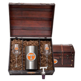 Tennessee Volunteers Wine Chest Set