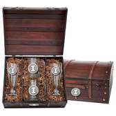 Illinois Fighting Illini Beer Chest Set