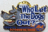 "New York Mets 2000 NL Champions ""Who Let the Dogs Out Pin"""