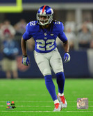 New York Giants Brandon Meriweather 40x50 Stretched Canvas