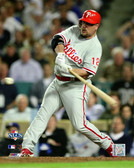 Philadelphia Phillies Matt Stairs 40x50 Stretched Canvas