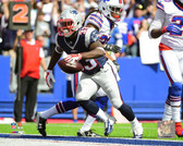 New England Patriots Dion Lewis 20x24 Stretched Canvas