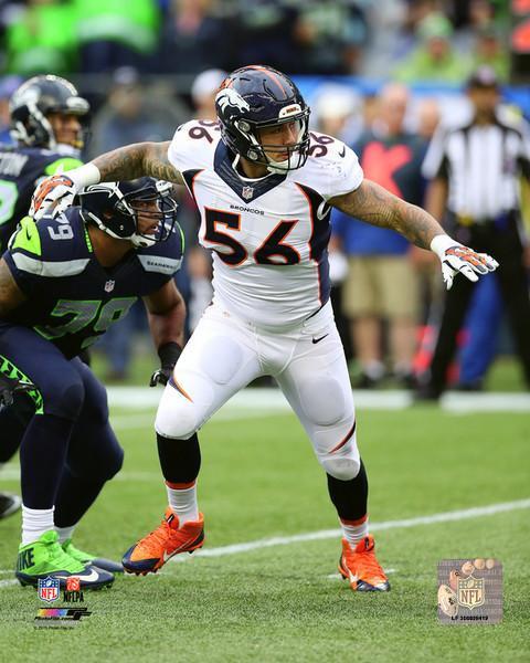 Denver Broncos Shane Ray 20x24 Stretched Canvas