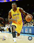 Los Angeles Lakers Julius Randle 16x20 Stretched Canvas