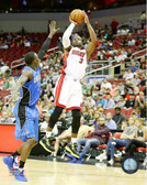Miami Heat Dwayne Wade 16x20 Stretched Canvas