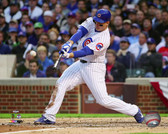 Chicago Cubs Anthony Rizzo hits a solo Home Run Game 4 of the 2015 National League Division Series 40x50 Stretched Canvas