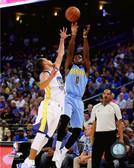 Denver Nuggets Emmanuel Mudiay 40x50 Stretched Canvas