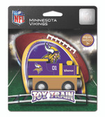 Minnesota Vikings Wood Train