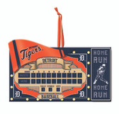 Detroit Tigers Scoreboard Ornament