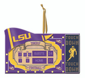 LSU Tigers Scoreboard Ornament