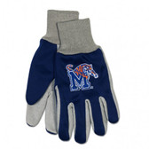 Memphis Tigers Two Tone Gloves - Adult