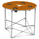 Texas Longhorns Round Tailgate Table