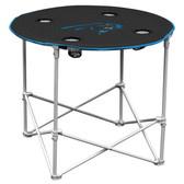 Carolina Panthers Round Tailgate Table