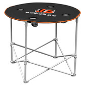 Cincinnati Bengals Round Tailgate Table