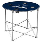 Dallas Cowboys Round Tailgate Table