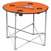 Denver Broncos Round Tailgate Table