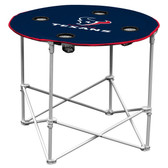 Houston Texans Round Tailgate Table