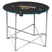 Jacksonville Jaguars Round Tailgate Table