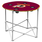 Washington Redskins Round Tailgate Table