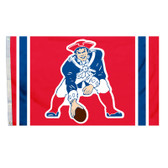 New England Patriots 3x5 All Pro Design Flag - Throwback Logo