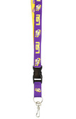 LSU Tigers Two-Tone Lanyard