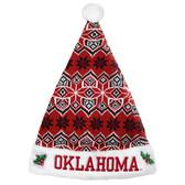 Oklahoma Sooners Knit Santa Hat - 2015