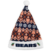 Chicago Bears 2015 Knit Santa Hat