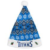 Tennessee Titans 2015 Knit Santa Hat