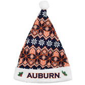 Auburn Tigers Knit Santa Hat - 2015