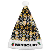 Missouri Tigers Knit Santa Hat - 2015