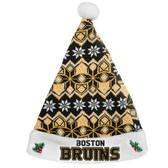 Boston Bruins Knit Santa Hat - 2015