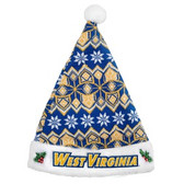 West Virginia Mountaineers Knit Santa Hat - 2015
