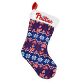 Philadelphia Phillies Knit Holiday Stocking - 2015