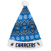 San Diego Chargers 2015 Knit Santa Hat