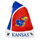 Kansas Jayhawks Basic Santa Hat - 2015